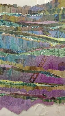 Kim's Hot Textiles: Reclaimed Papers at Art Van Go November 11th & 12th