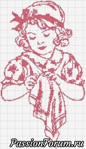 Схемы вышивки крестом. Для рукодельниц и о рукодельницах.