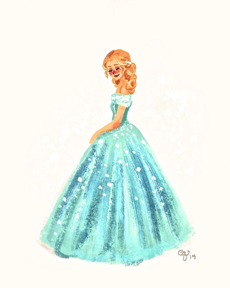 how to make a cinderella drawing