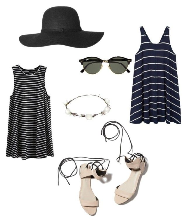 """#dresses#greatcombination#sunglasses#hat#allaboutthestyle#details"" by carla-ana-maria on Polyvore featuring MANGO, 3.1 Phillip Lim, Lipsy and Ray-Ban"