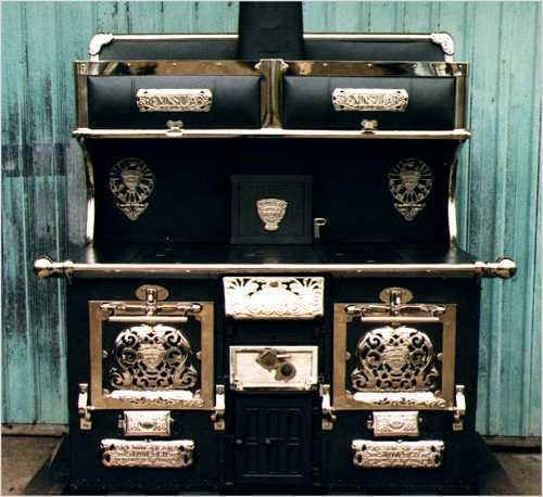 old wood cooking stoves | , vintage appliance, refrigerator, deco, cook stove, gas stove ...