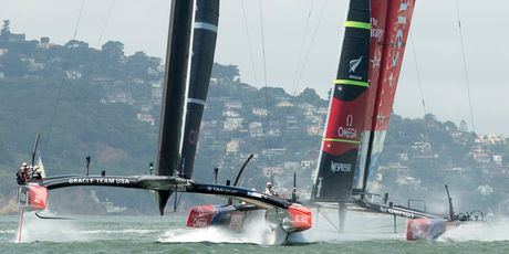 Newly instated Oracle Team USA tactician Ben Ainslie had a tough introduction to the America's Cup, with Team New Zealand out-witting the defenders with a masterful tactical performance - New Zealand Herald...