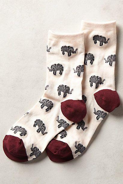 Fine Print Socks #anthrofave