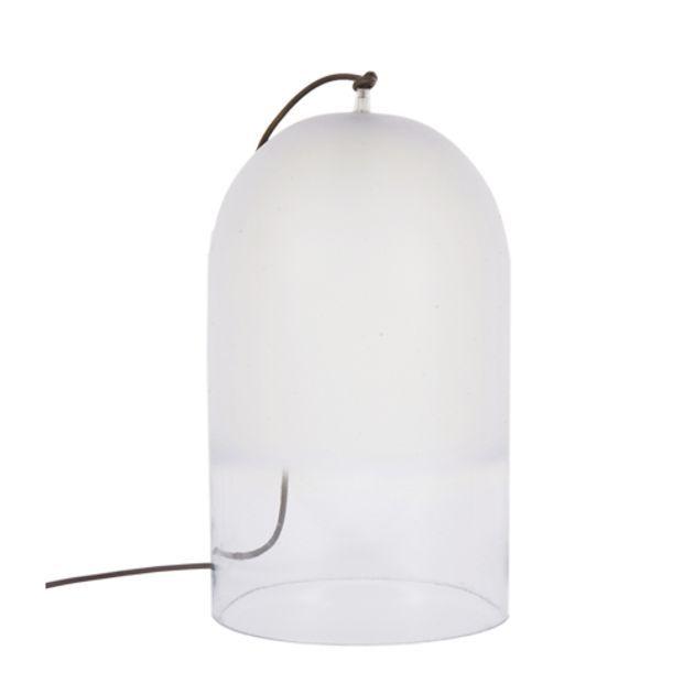 Lampe à poser cloche en verre dépoli Dewy Eno Studio - PM