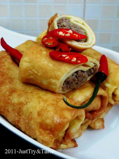 Sosis Solo Isi Daging Cincang | Just Try & Taste
