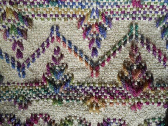 Sueco tejido afgano por HickoryRidgeCrafts en Etsy