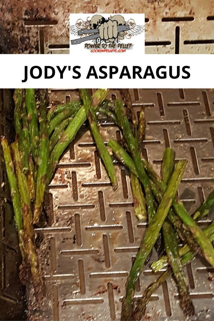 2 Lbs Fresh Asparagus, Snap Ends Off Drizzle 2 Teaspoons Olive Oil  Sprinkle On As Much Garlic Salt As You Like Crank Grill To 375 Until  Asparagus Wilts
