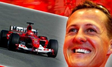 Fórmula 1 - homenagem a Michael Schumacher.