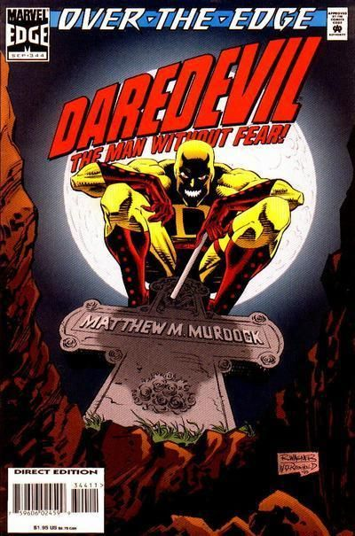 "Daredevil #344 (Sep 1995, Marvel) ""Over the Edge"" Punisher Comic ***TYLER***"