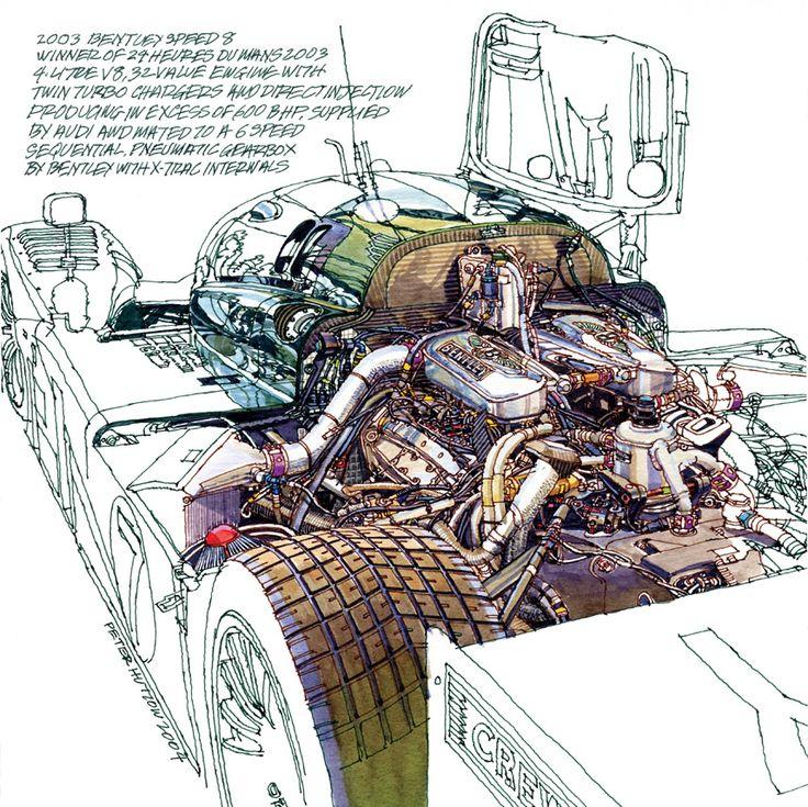 2003 Bentley Speed 8 - Engine #LeMans