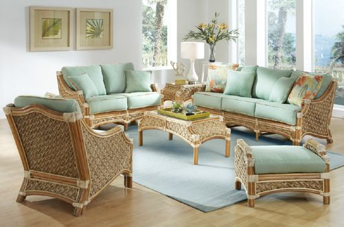 14 best white rattan and wicker indoor living room furniture images on pinterest living room for Bamboo living room furniture