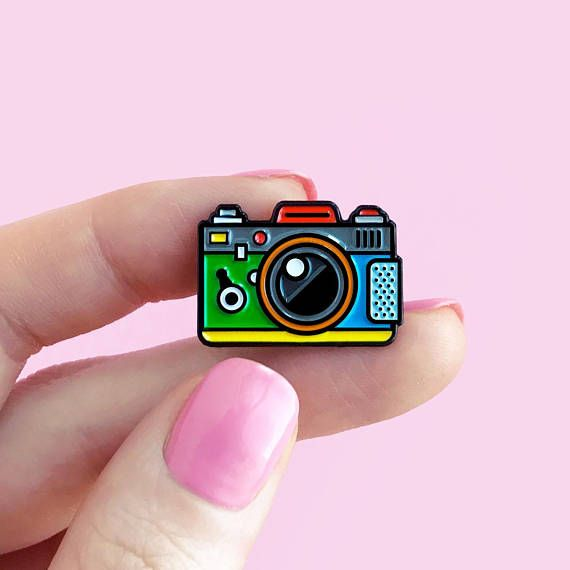 Our pins like candies. But you shouldnt eat it - you should wear it all at once. They will complete any look and cheer you up