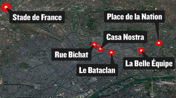 Läs dokumentet om de nya terrorattentaten mot Paris.