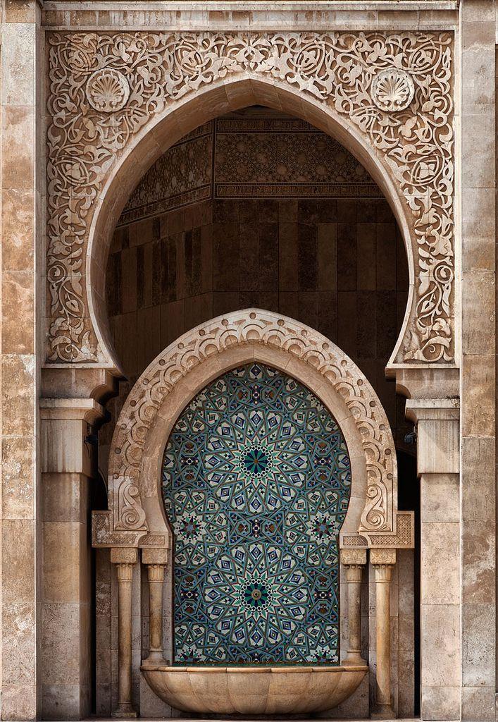 Hassan II Mosque, Casablanca, Morocco | © Gaston Batistini