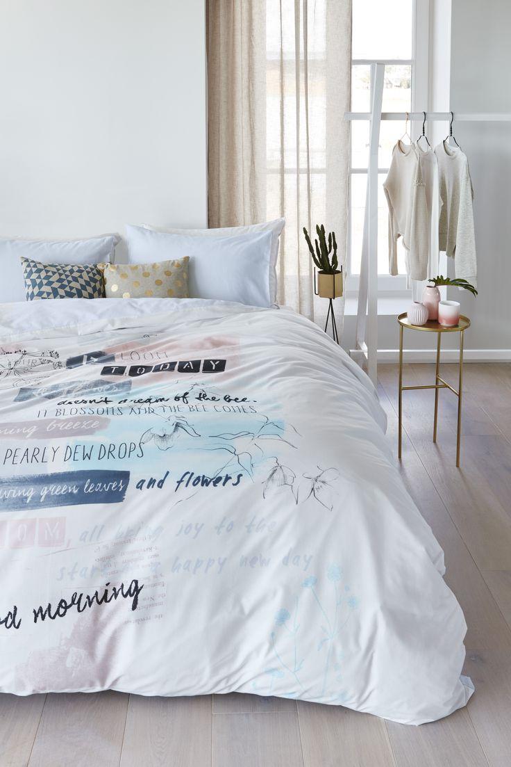 25 beste idee n over dekbed beddengoed op pinterest wit dekbed beddengoed wit beddengoed en - Pastel slaapkamer kind ...