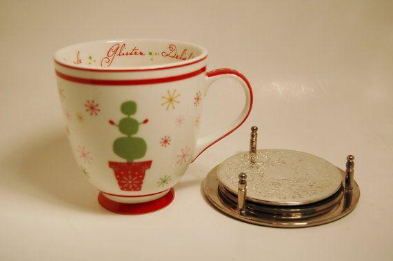 Free Starbucks Christmas Mug Porcelain with by ThatStuffInTheAttic