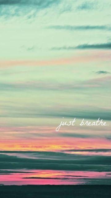 Sólo respira.