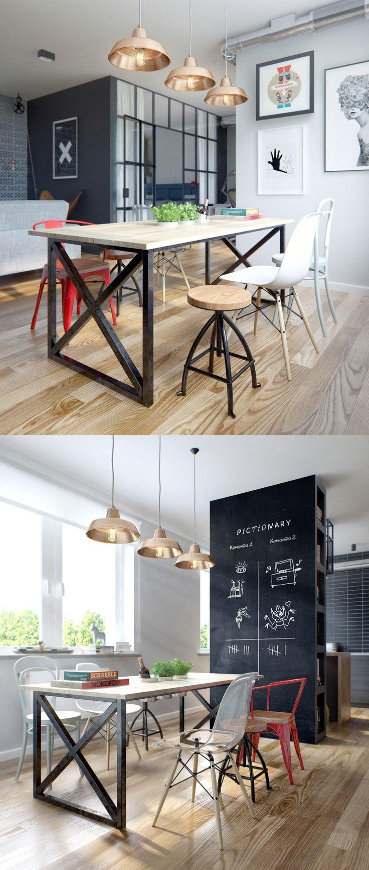 best 25 scandinavian dining rooms ideas on pinterest bright scandinavian dining room style with whimsical wall decoration