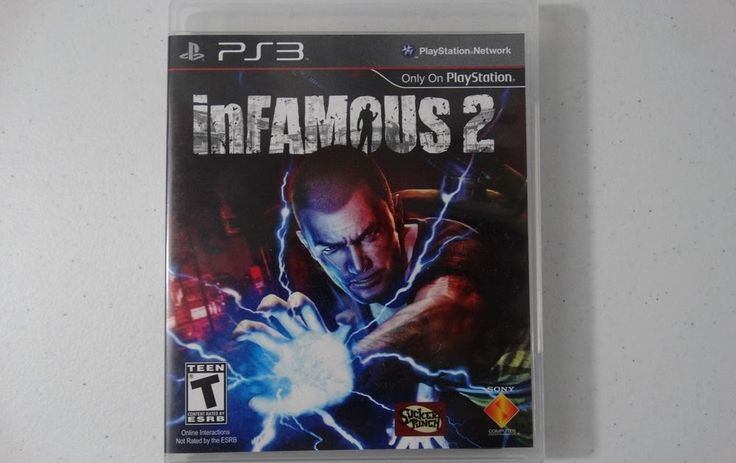 PS3 inFamous 2 Video Game for Sony PlayStation 3