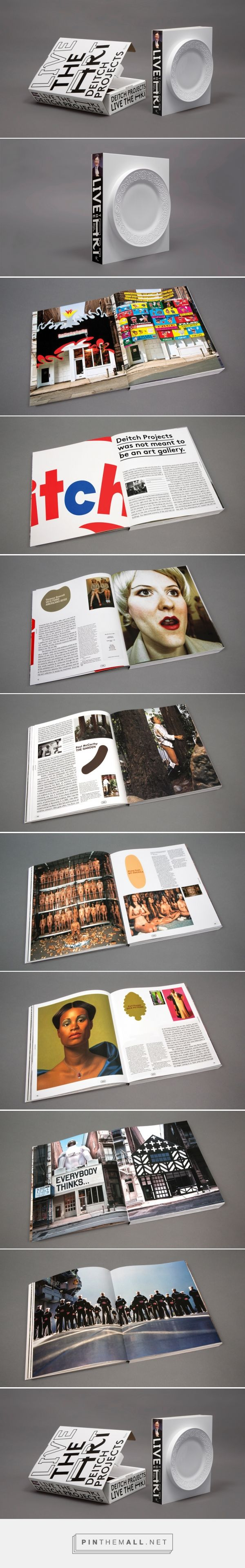 Deitch Book – Sagmeister & Walsh #poster #plakat #layout #graphicdesign #gestaltung #typography #color #illustration #design #collage #print #cover #magazine #book