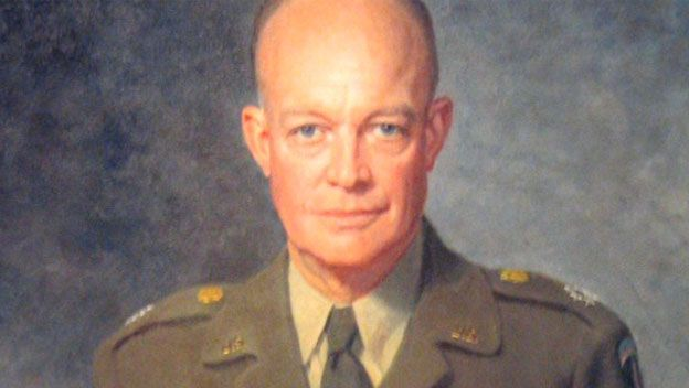Dwight D. Eisenhower - U.S. Presidents - HISTORY.com This five-star general and 34th U.S. president launched the Space Race and created the federal interstate highway system