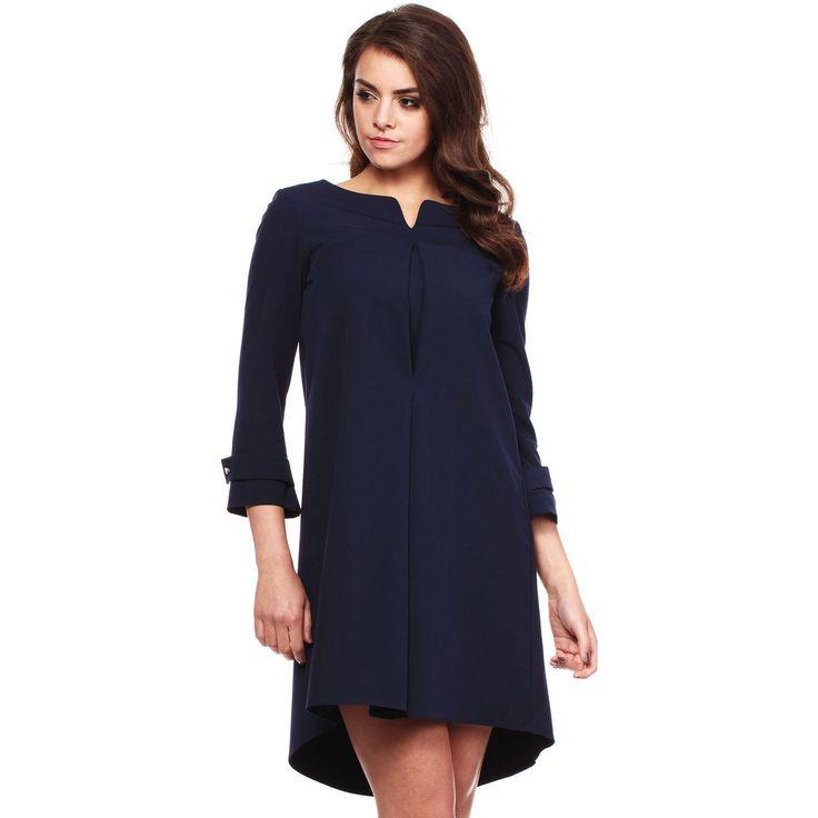 Dark Blue Smart Dress LAVELIQ