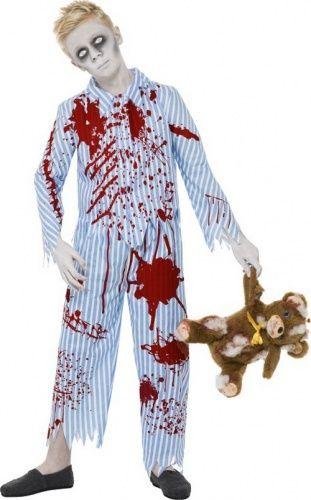 Disfraz de zombie en pijama para niño