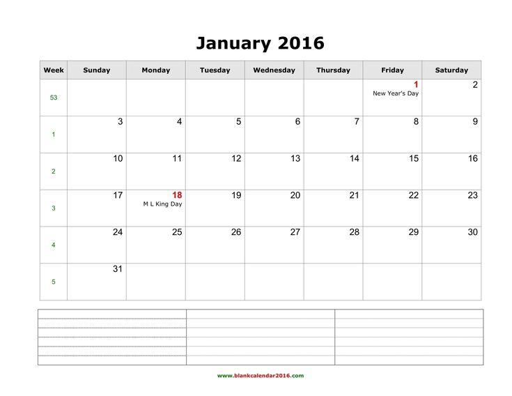 The 25+ best Blank monthly calendar 2016 ideas on Pinterest - julian calendar template