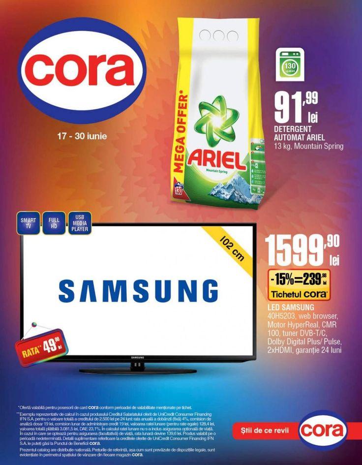 POC Oferte Supermarket online   CORA -Stii de ce revii...