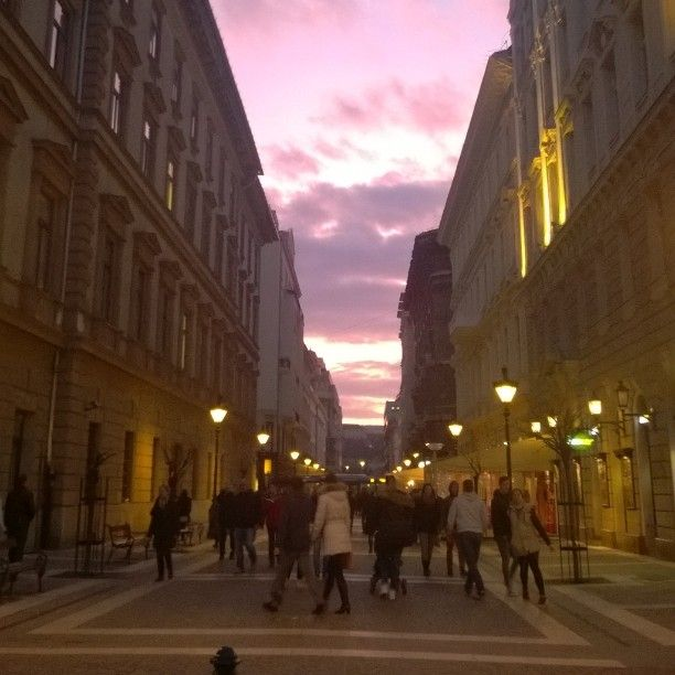 The Pest side of Budapest is full of great nightlife and restaurants.