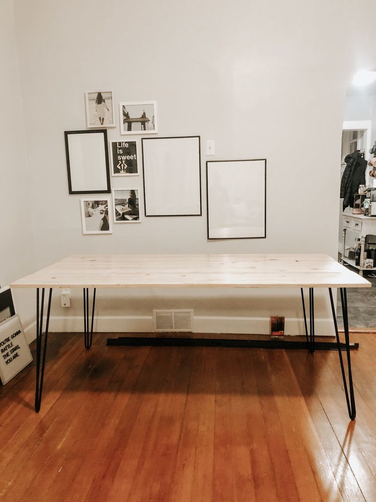 Diy hairpin dining table from jennifer ann in 2020