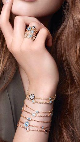 Aaron Basha evil eye jewelry