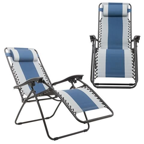 Padded Reclining Lounge Chair