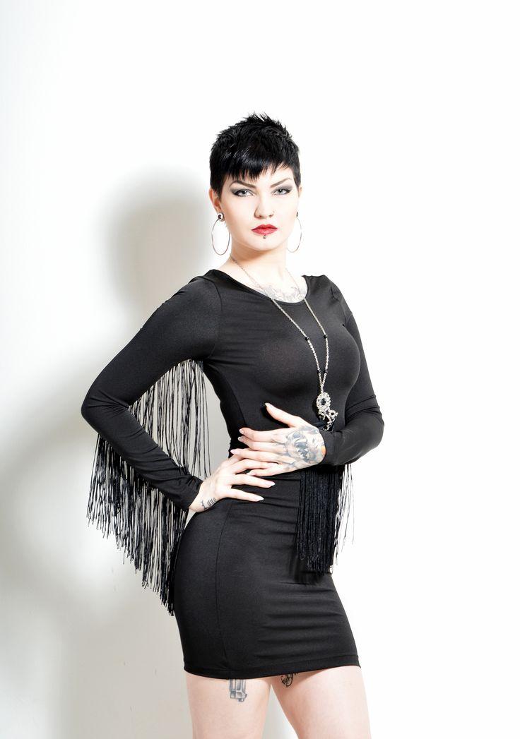 Model: Nina Nonstopable Photo: Leena Flinck Photography  Published in Twisted Edge-magazine.