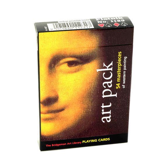 Art Pack spillekort