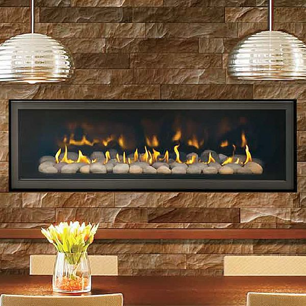 Napoleon LHD502 Two Sided Direct Vent Gas Fireplace