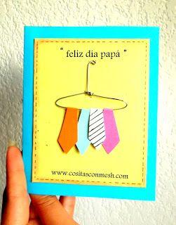 Ideas de regalo para hacer en el dia del padre ~ cositasconmesh