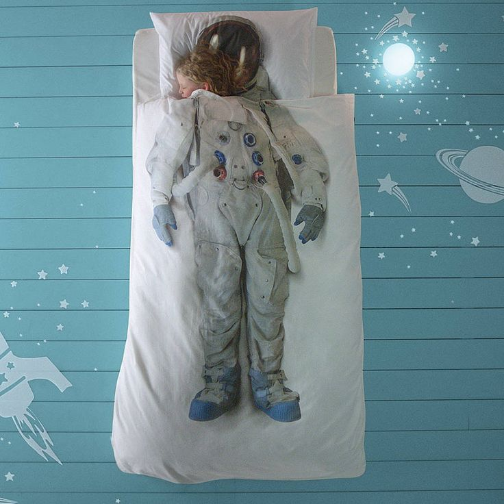 astronaut single bed set by little baby company | notonthehighstreet.com