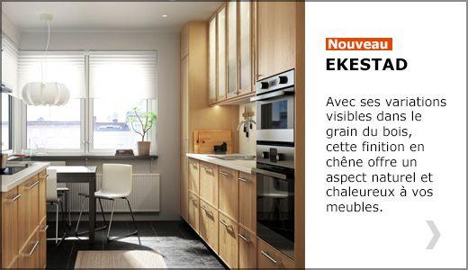 D couvrez notre nouvelle finition cuisine ekestad id es - Coin cuisine ikea ...