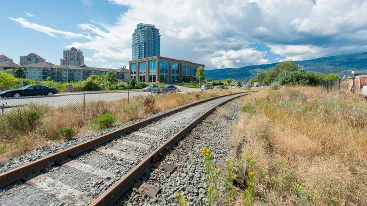 Abandoned Kelowna rail line to become safe cycling route to UBC Okanagan