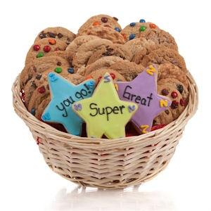 Super Stars Cookie Gift Basket