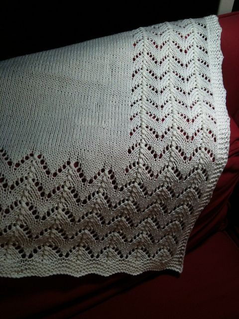 Ravelry: Just My Size Little Miss B's Preemie Baby Blanket pattern by Cathy Waldie