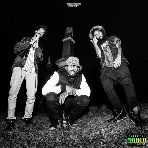 """""""Meech, Juice, and Erick drew from the state of Brooklyn, sprinkled it with some Charles Manson, Maury Povich, Baby Boy and Carrie, and out-classed their contemporaries.""""  Read the full review here: http://potholesinmyblog.com/flatbush-zombies-betteroffdead/"""
