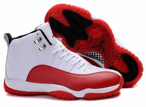 nike spizike footlocker -Air Jordan 12+11 White Red