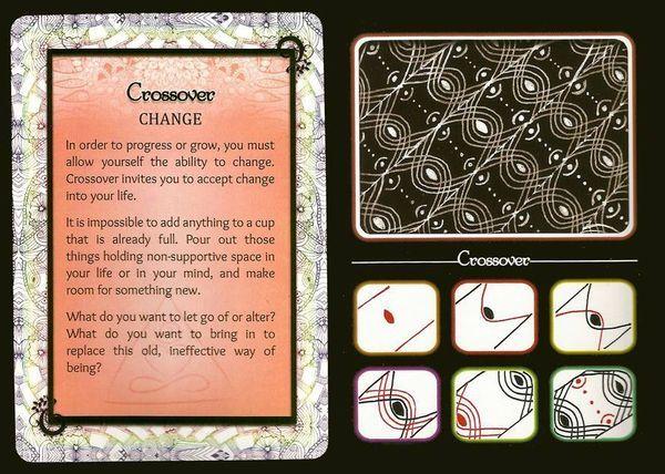 Crossover~Zentangle | Zentangles | Pinterest | Crossover