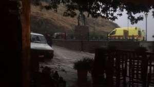 Ισχυρή καταιγίδα στην Σαμοθράκη - Παρέχεται από: PROTO THEMA S.A.