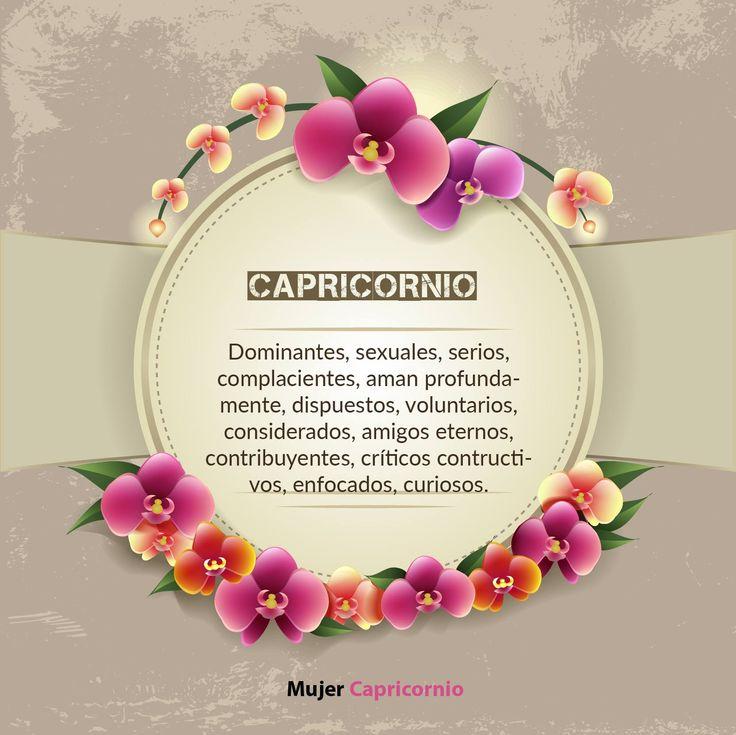 #Capricornio #MujerCapricornio #Frases #zodiaco #Capricorn  #woman…