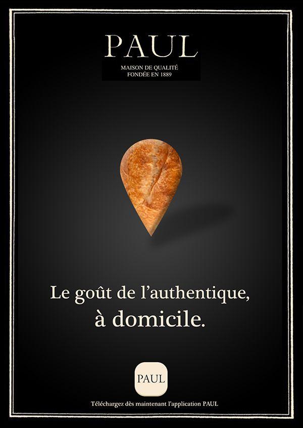 Boulangerie PAUL - Campagne publicitaire magazine on Behance
