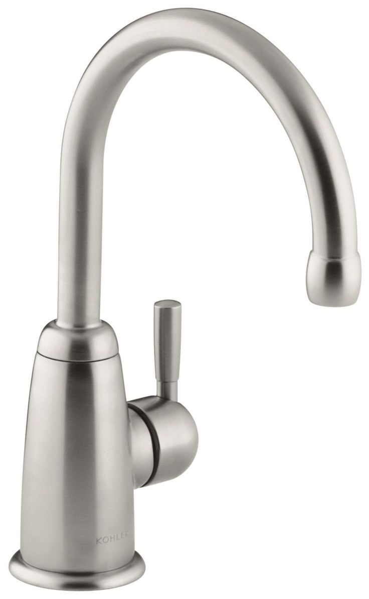 Wellspring Beverage Faucet with Contemporary Design Complete with Aquifer Water Filtration System