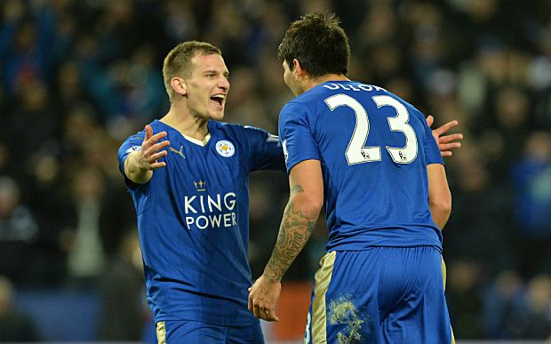 Bittersweet season for Leicester's title hopeful Marc Albrighton as boyhood club Aston Villa face the drop